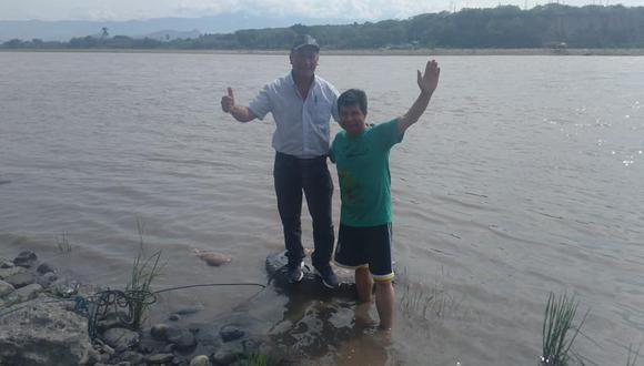 Cercanía. Juan Francisco Silva posa con el entonces candidato Castillo, en noviembre de 2020. Lo acompañó por varias regiones. (Foto: Facebook)