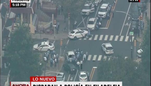 Estados Unidos: Autoridades policiales responden a un nuevo tiroteo en Filadelfia. (Captura CNN)