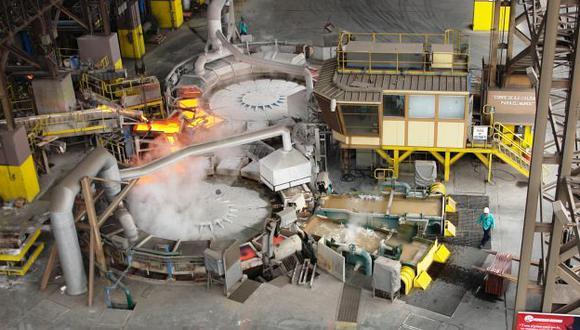 El 77% de la producción nacional de cobre está concentrada en tres empresas. (USI)