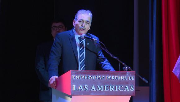 Esteban Saavedra, coronel PNP en retiro, exasesor de la DEA, especialista en narcotráfico.
