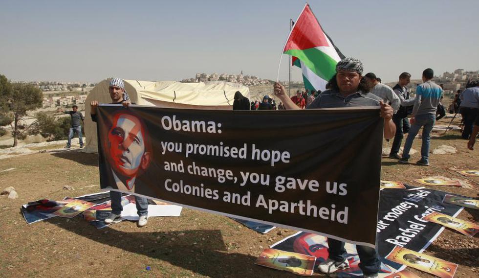 Los palestinos confiaban en que iba a ser más equilibrado y estaba más dispuesto a que su predecesor. (Reuters)
