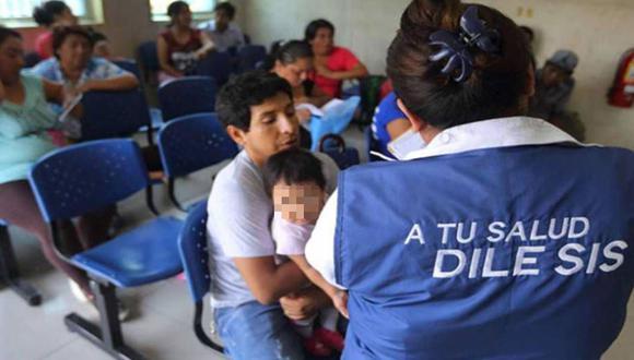 Las personas pobres podrán recibir atención médica gracias a la cobertura del SIS. (Foto: Andina)