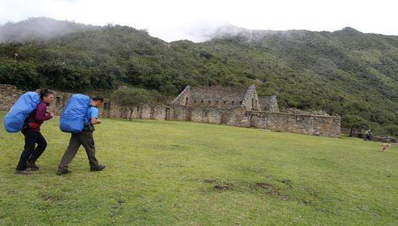 Ahora podrás recorrer virtualmente el parque arqueológico Choquequirao gracias a una App (Andina)