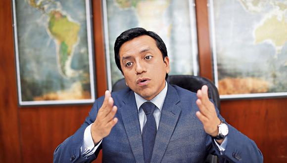 Gilbert Violeta. Presidente del partido Peruanos por el Kambio. (Geraldo Caso)