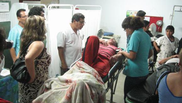 RÁPIDA RESPUESTA. Los 145 heridos que dejó el sismo fueron atendidos en diversos hospitales. (USI)