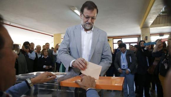 Duro revés. grupo de Rajoy ganó las elecciones en Madrid. (EFE)