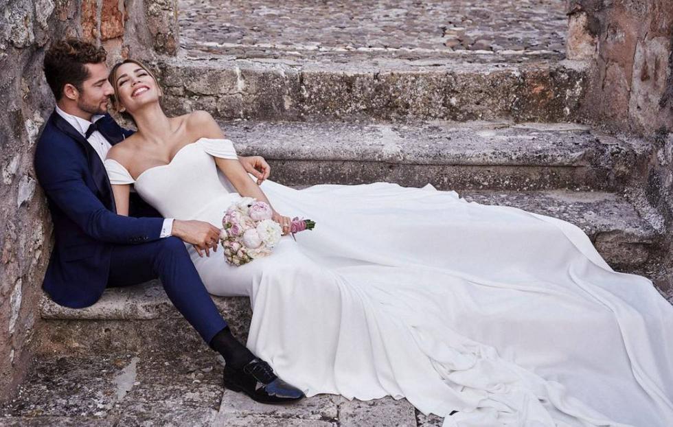 David Bisbal anunció mediante sus redes sociales su matrimonio con Rosanna Zanetti. (Créditos: @davidbisbal)