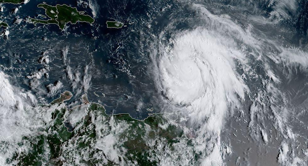 Huracán María (AFP)