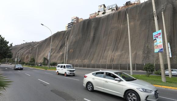 Las obras en el malecón Castagnola son ejecutadas por la Municipalidad de Lima. (Foto: MML)