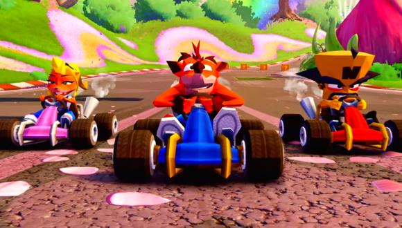 Crash Team Racing Nitro-Fueled llegará el próximo 21 de junio en PS4, Xbox One y Switch.