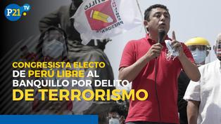 Guillermo Bermejo: El congresista electo de Perú Libre al banquillo por delito de terrorismo