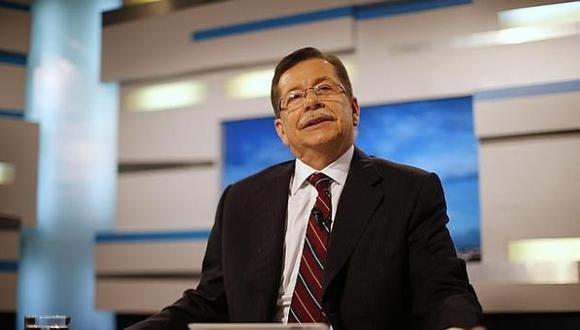 Leopoldo Castillo dijo adiós a sus televidentes. (Reuters)