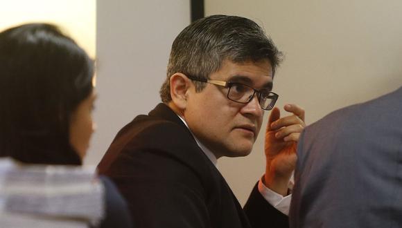 """Pérez remarcó que """"no tenía conocimiento"""" de la destitución de la fiscal asignada a su despacho. (Foto: USI)"""