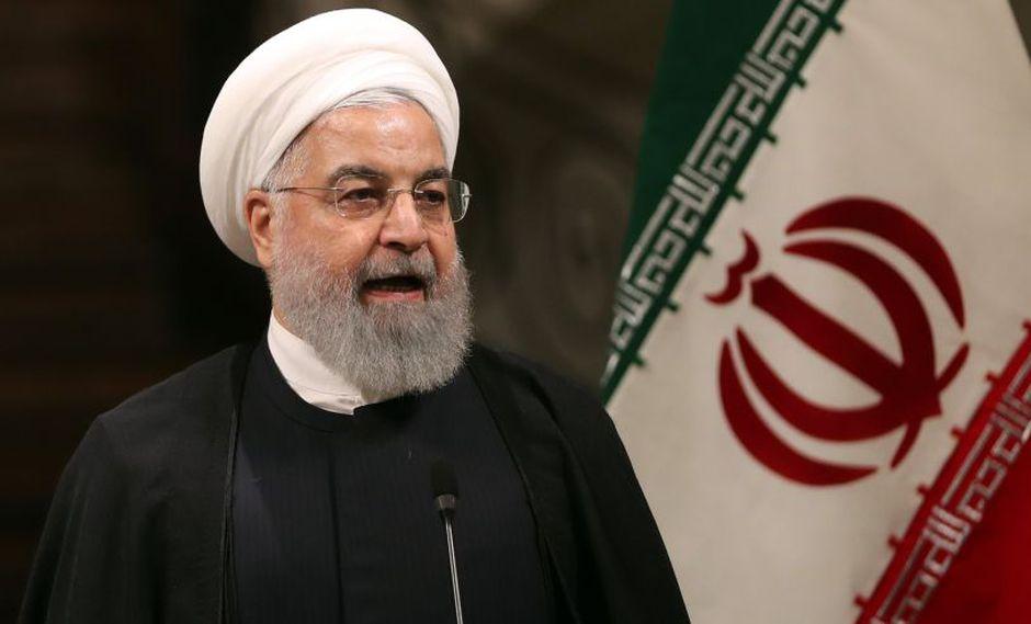 Las declaraciones las hizo el general de brigada Abolfazl Shekarchi. La imagen pertenece al presidente iraní Hassan Rohani. (Foto: AFP)
