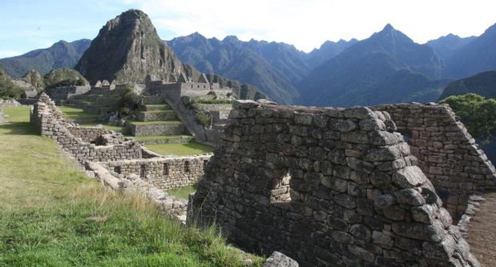 Fuego en Machu Picchu