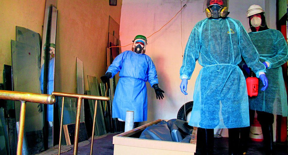 Muertes fuera de hospitales por sospecha y de COVID-19 se redujo en un 80% en Arequipa