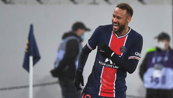 Neymar no juega un partido oficial con PSG desde el 10 de febrero pasado. (Foto: AFP)