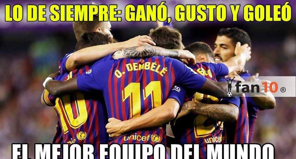FC Barcelona y los memes tras aplastar al Huesca en el Camp Nou. (Foto: Facebook)