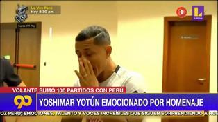 Selección Peruana: Yoshimar Yotún se emocionó hasta las lagrimas con homenaje