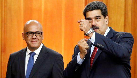 Jorge Rodríguez habría filtrado entrevista de Jorge Ramos a Nicolás Maduro, según ex ministro venezolano. (Reuters)