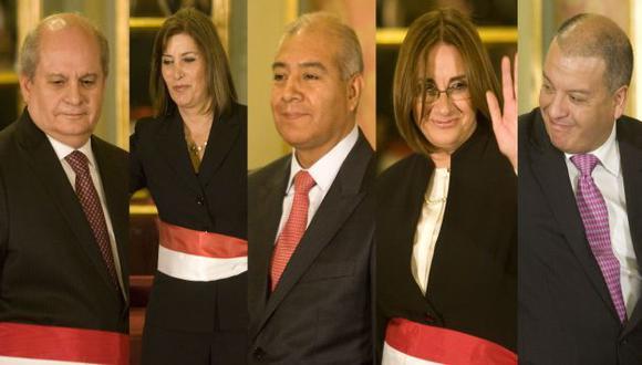 Tres abogados y dos economistas se incorporaron al equipo ministerial. (Alberto Orbegoso)