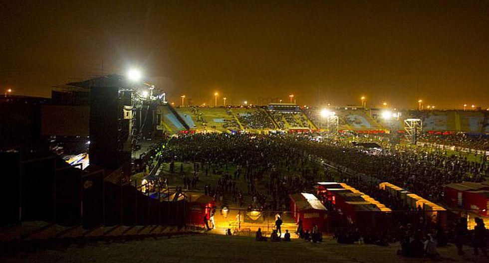 Varios conciertos se han realizado en los últimos años en el Estadio de San Marcos. (USI)