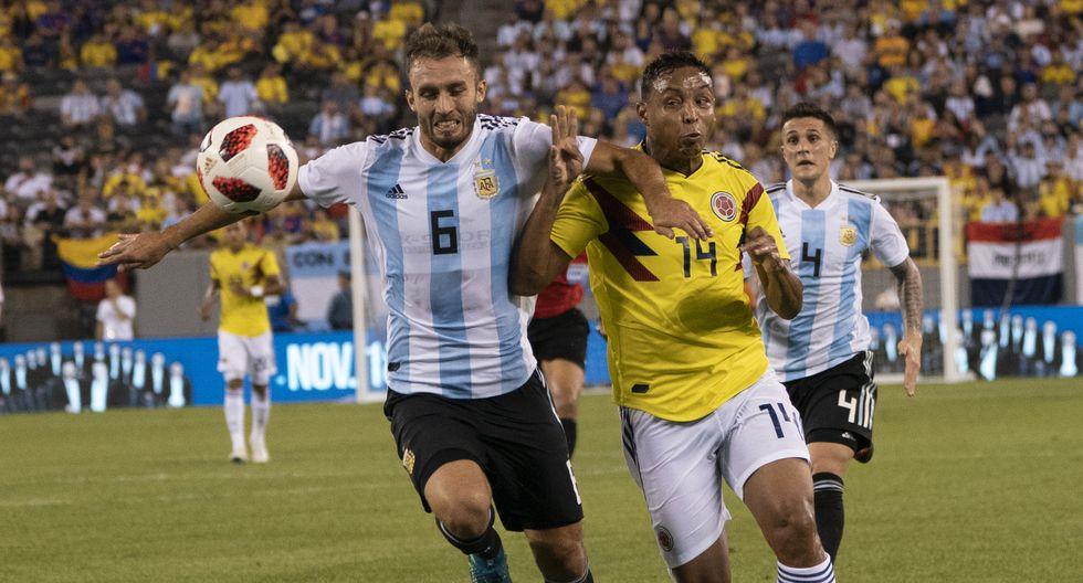 Colombia y Argentina empataron 0-0 en New Jersey. (AFP)