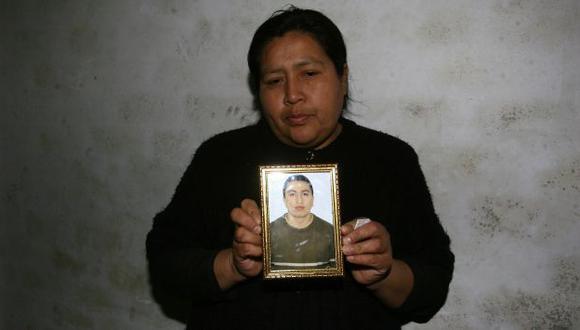JUSTICIA. Madre de víctima pide que se aclare su deceso. (Mónica Palomo/USI)