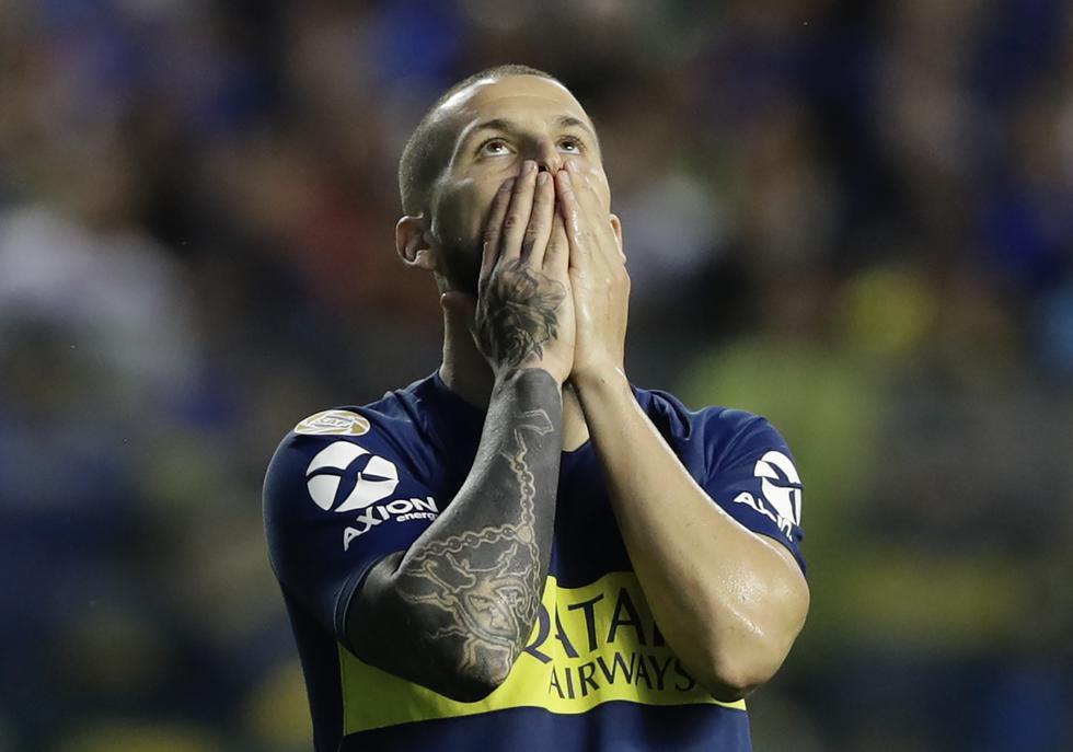 Boca Juniors cayó 2-0 ante River Plate en el Superclásico argentino. (Agencias)