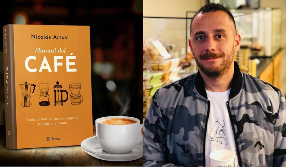 Nicolás Artusi, el 'sommelier de café'.