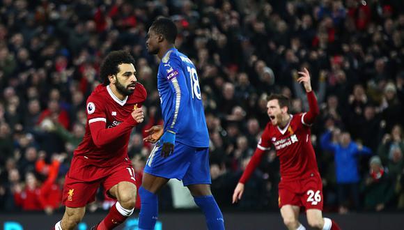 Liverpool volvió a ganar en la Premier League. (Getty Images)