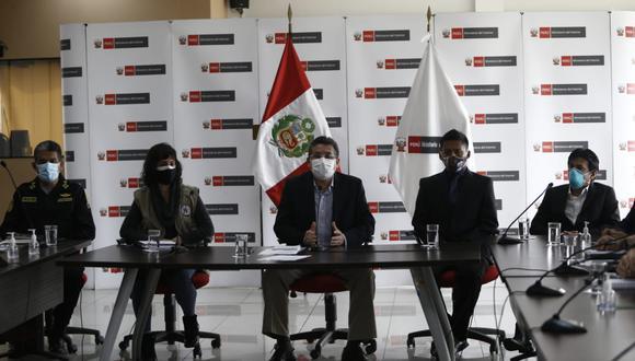 En la conferencia participaron los familiares de las personas fallecidas. (Fotos: Francisco Neyra/ @photo.gec)