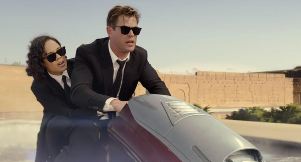 "Lanzan el tráiler final de ""Men in Black: Internacional"", spin off protagonizado por Chris Hemsworth y Tessa. (Foto: Captura de video)"