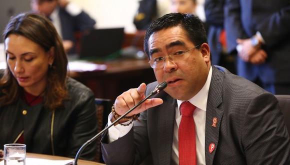 Alberto Oliva criticó actitud de Fuerza Popular en la Comisión de Justicia el último viernes. (Foto: El Comercio)