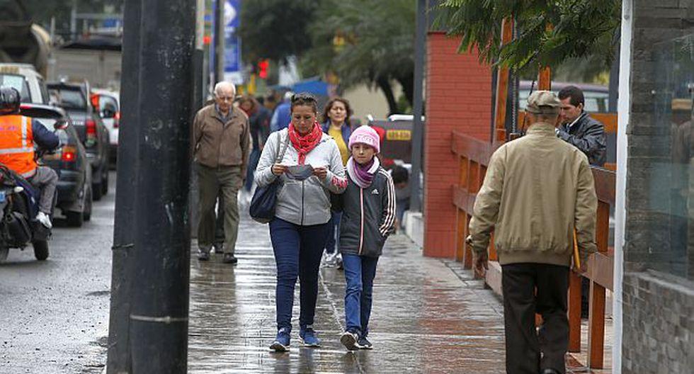 El frío se vuelve más intenso en la capital durante el invierno. (Foto: GEC)