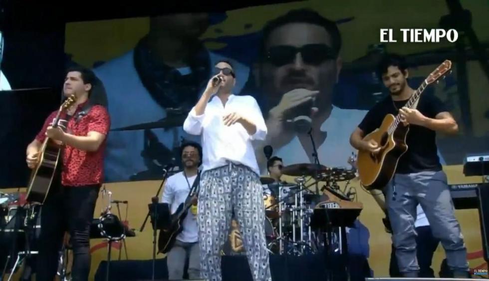 La agrupación mexicana Reik ofreció un concierto lleno de romanticismo. (Foto: Captura de video)