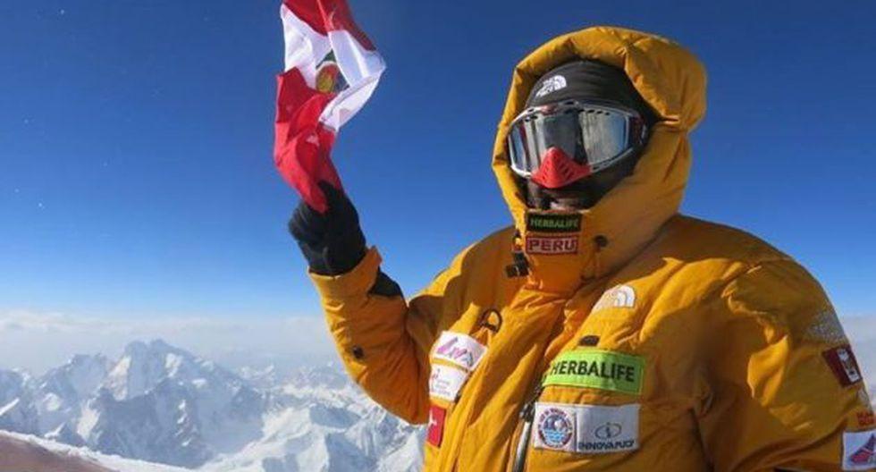 Richard Hidalgo se convierte en el primer peruano en coronar la montaña Borad Peak en Pakistan. (USI)
