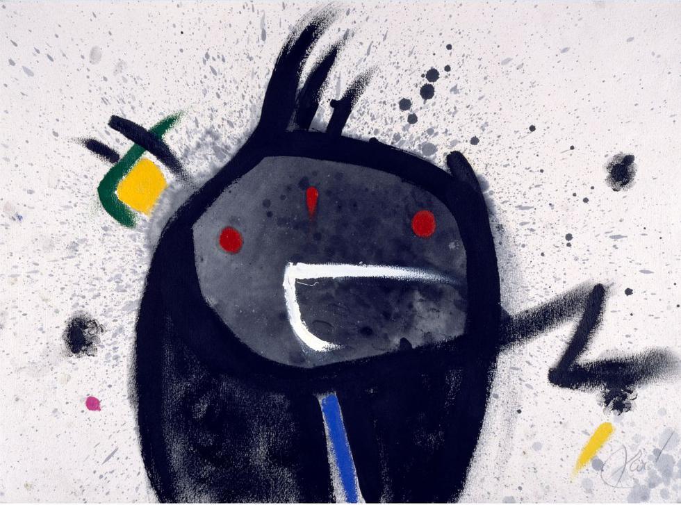 'Cabeza, pájaro' se encuentra entre las 50 piezas de la exposición 'Miró: La experiencia de mirar' (MALI).