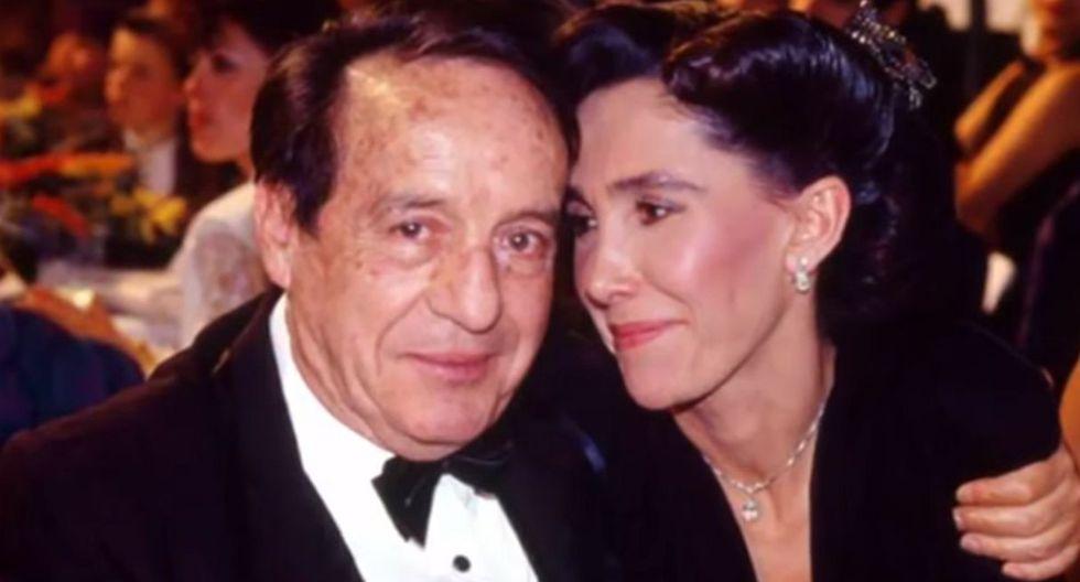 Florinda Meza y Roberto Gómez Bolaños en una tierna escena. (Foto: Captura de YouTube)