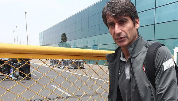 Óscar Ibáñez es hoy parte del cuerpo técnico de Universitario. (USI)