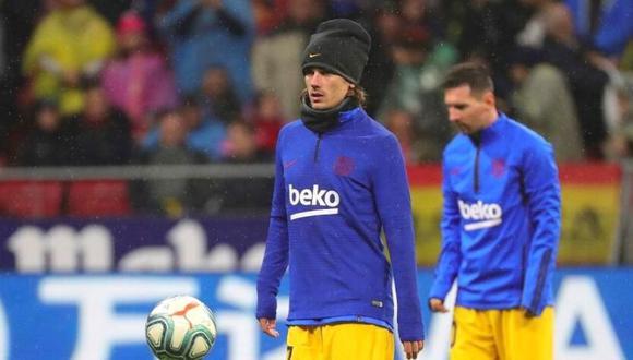 Antoine Griezmann cumple su segunda temporada en Barcelona. (Foto: EFE)