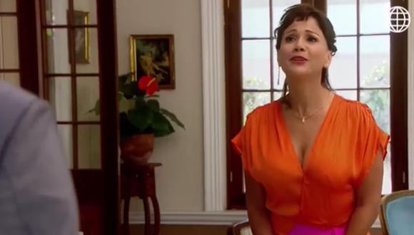 Así fue la reaparición de 'Malena Ugarte' en el barrio de San José. (Foto: Captura de video)