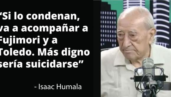 El patriarca del los Humala criticó con dureza las decisiones de su hijo.