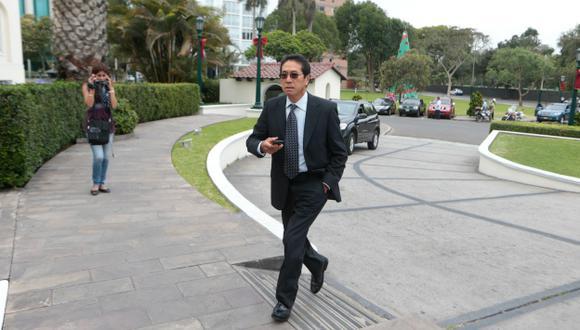 El mecenas. Jaime Yoshiyama Tanaka habría fraccionado aportes para Fuerza Popular. (Mario Zapata)