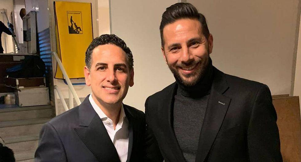 Claudio Pizarro y Juan Diego Flórez se juntaron en Bremen. (Foto: Instagram)