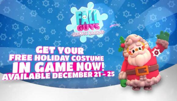 Ya se puede obtener el traje de 'Papá Noel' totalmente gratis para el juego.