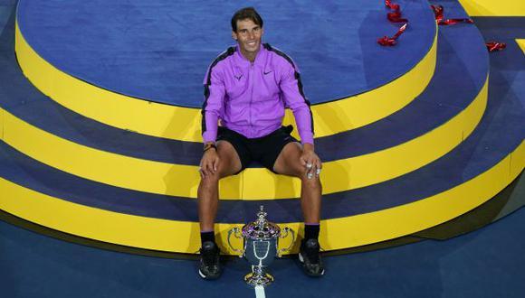 Rafael Nadal tiene 84 títulos en el circuito ATP, 19 en Grand Slam. (Foto: AFP)