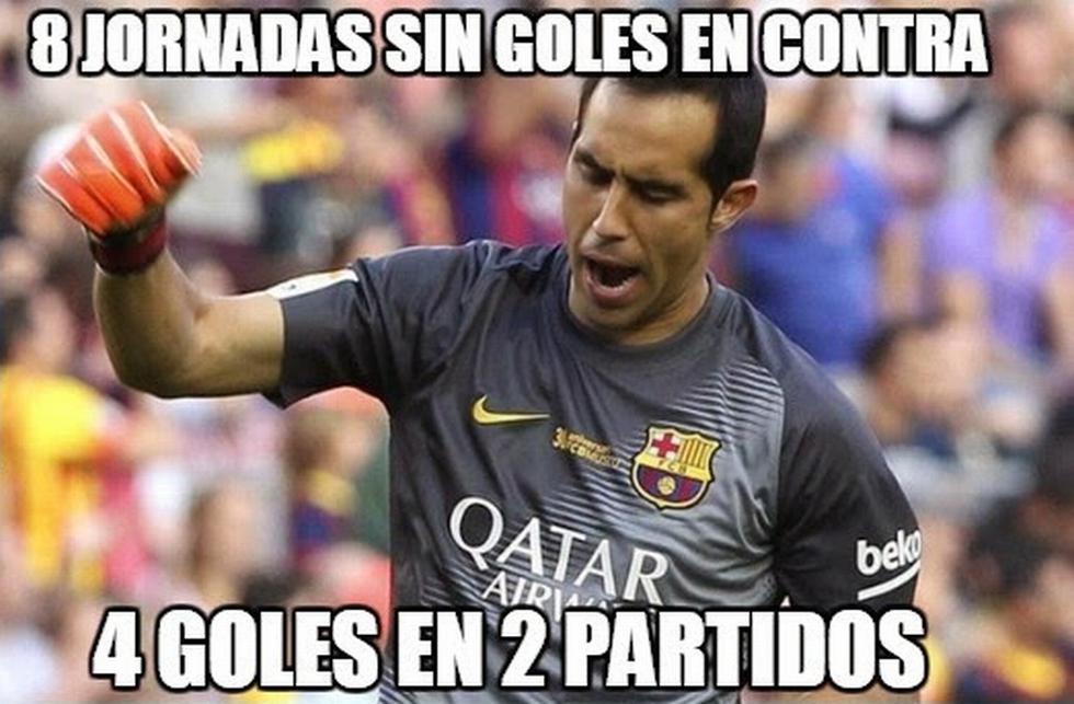 Memes de la derrota del Barcelona ante el Celta de Vigo. (memedeportes.com)