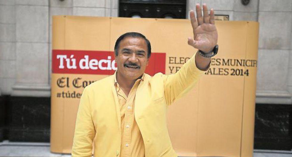 Milton Jiménez Salazar ya tiene tres periodos como alcalde del distrito de Puente Piedra. (USI)
