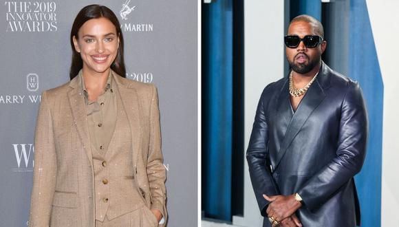 Irina Shayk y Kanye West fueron vistos en una viaje a Francia. (Foto: Tolga Akmen / Jean-Baptiste Lacroix/ AFP)